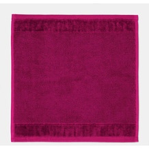 möve Seiftuch Bamboo Luxe berry 30 x 30 cm