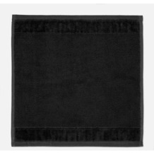 """möve Seiftuch """"Bamboo Luxe"""" black 30 x 30 cm"""
