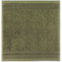 "möve Seiftuch ""Wellbeing"" sea grass 30 x 30 cm"