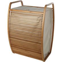möve Wäschekorb Bamboo wood 40x35,5x60cm