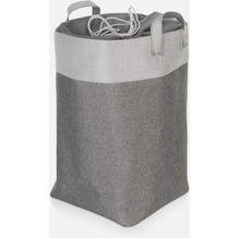 möve Wäschekorb Canvas grey Ø 30 x 50 cm