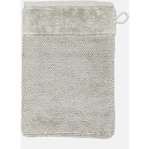 möve Waschhandschuh Bamboo Luxe silver grey 20 x 15 cm