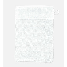 möve Waschhandschuh Bamboo Luxe snow 20 x 15 cm