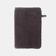 möve Waschhandschuh Elements graphite 20 x 15 cm