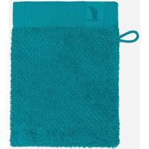 möve Waschhandschuh New Essential Uni emerald 20 x 15 cm