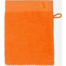 möve Waschhandschuh New Essential Uni orange 20 x 15 cm