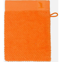 möve Waschhandschuh New Essential Uni orange 20 x 15 cm