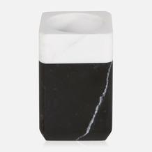 möve Zahnbürstenhalter Black & White black/snow 7,1x7,1x11,1cm