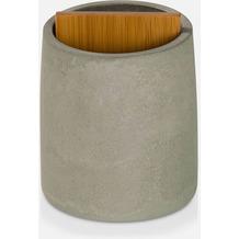 möve Zahnbürstenhalter Cement grey Ø 8 x 10,5 cm