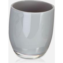 möve Zahnbürstenhalter Streamline grey 7,5x7x9 cm
