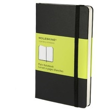 Moleskine. Plain Notebook