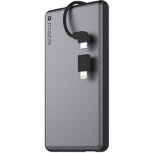 Mophie Powerstation Plus, space grey - Externe Schnellade-Batterie mit Lightning und Micro-USB ( 6000 mAh)