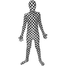 Morphsuits Kids BW Check S