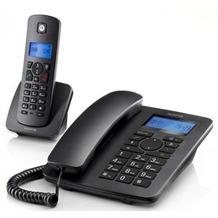 Motorola C4201 + 1 schnurloses Mobilteil, black