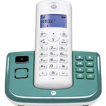 Motorola T211 DECT Telefon mit AB, türkis
