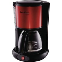 Moulinex Kaffeeautomat FG360D Subito rot-schwarz