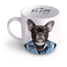 Mustard Wild Dining Kaffeebecher- Hund