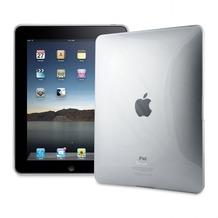 muvit Carbomat™, für iPad 1G, Transparent