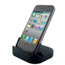 muvit MCA Ladeschale für iPhone, Schwarz