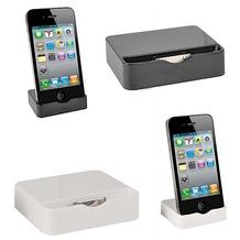 muvit Slim Dock, Ladeschale für iPhone 4, Weiß