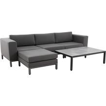 MWH Loungemöbelset Royal Granitz (Sofa+Tisch)