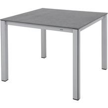 MWH Tisch Elements 90x90 cm silber