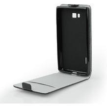 my-eXtra Flip-Tasche mit Visitenkartenfach für Samsung Galaxy S7 Edge - schwarz