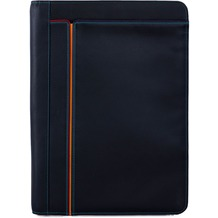Mywalit A4 Document Case Schreibmappe Leder 33 cm black/pace