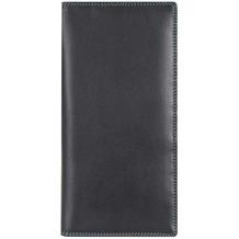Mywalit Breast Wallet Kreditkartenetui Leder 18 cm black/pace