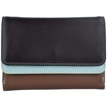 Mywalit Double Flap Wallet Geldbörse Leder 13 cm mocha