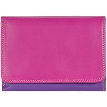 Mywalit Medium Tri-fold Wallet Geldbörse Leder 11 cm sangria multi