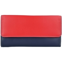Mywalit Tri-fold Zip Wallet Geldbörse Leder 17 cm royal