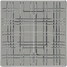 Nachtmann Square Platte quadratisch 21 cm 2er Set smoke