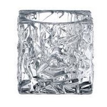 Nachtmann Votiv Set Ice Cube 7cm, 2er Set