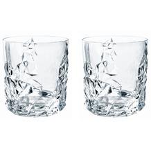 Nachtmann Whisky Sculpture Bleikristall 10 cm 2er Set