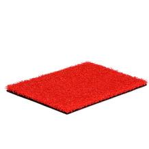 Natürlich Kunstrasen Kunstrasen Life 24 Rot 100 cm x Wunschlänge