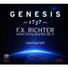 Naxos Genesis 1757 (Streichquartette op.5), SACD