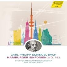Naxos Hamburger Symphonien WQ 182, CD