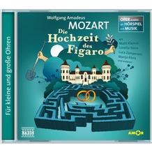 Naxos Mozart: Die Hochzeit des Figaro, CD