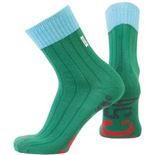 NC56 socks rib green, 39-42