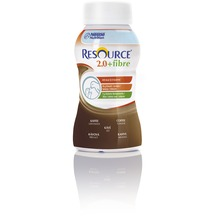 Nestlé Resource 2.0 fibre Kaffee, 24 x 200 ml, Trinknahrung