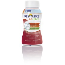 Nestlé Resource 2.0 fibre Multifrucht, 24 x 200 ml, Trinknahrung