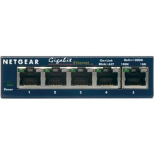 NETGEAR Gigabit Kupfer Switch GS105