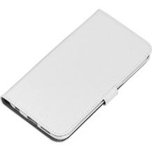 nevox ORDO Booktasche für Samsung Galaxy S6 edge, weiß-grau