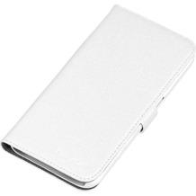 nevox ORDO Booktasche für Samsung Galaxy S6, weiß-grau