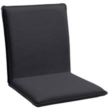 Niehoff Garden Sitzschale NETTE Sitz und Rücken in BATYLINE EDEN anthrazit Gestell Edelstahl gebürstet 45x47x62cm