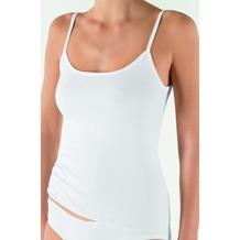 Nina von C. Fine Cotton Trägerhemd weiss 38