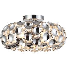 Nino Leuchten Deckenleuchte Design chrom 3flg ONTARIO 61080306