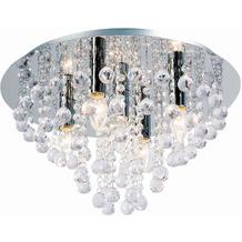 Nino Leuchten Deckenleuchte Kristall Glas chrom LONDON 63040506