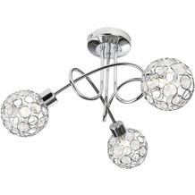 Nino Leuchten LED Deckenleuchte 3flg LARGO 64340306
